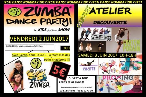 Affiche Festi Danse 2017